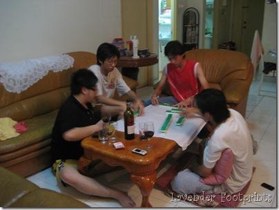 Mahjong session