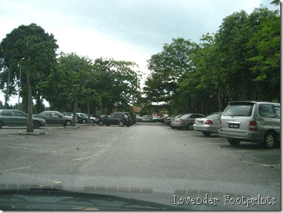 i can see addie's car!
