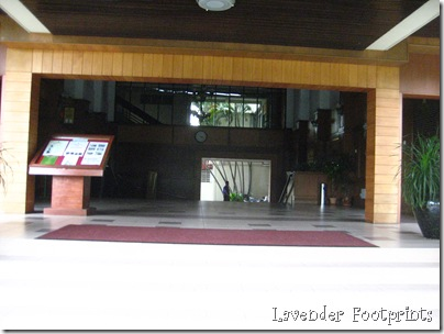 entrance of the not-so-main building