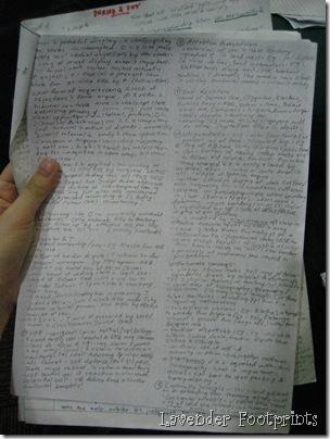 Deb's notes
